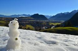 W0040 Märzsonne-Schneemann