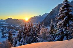 W0008 Wintermorgen Pfrontener Tal
