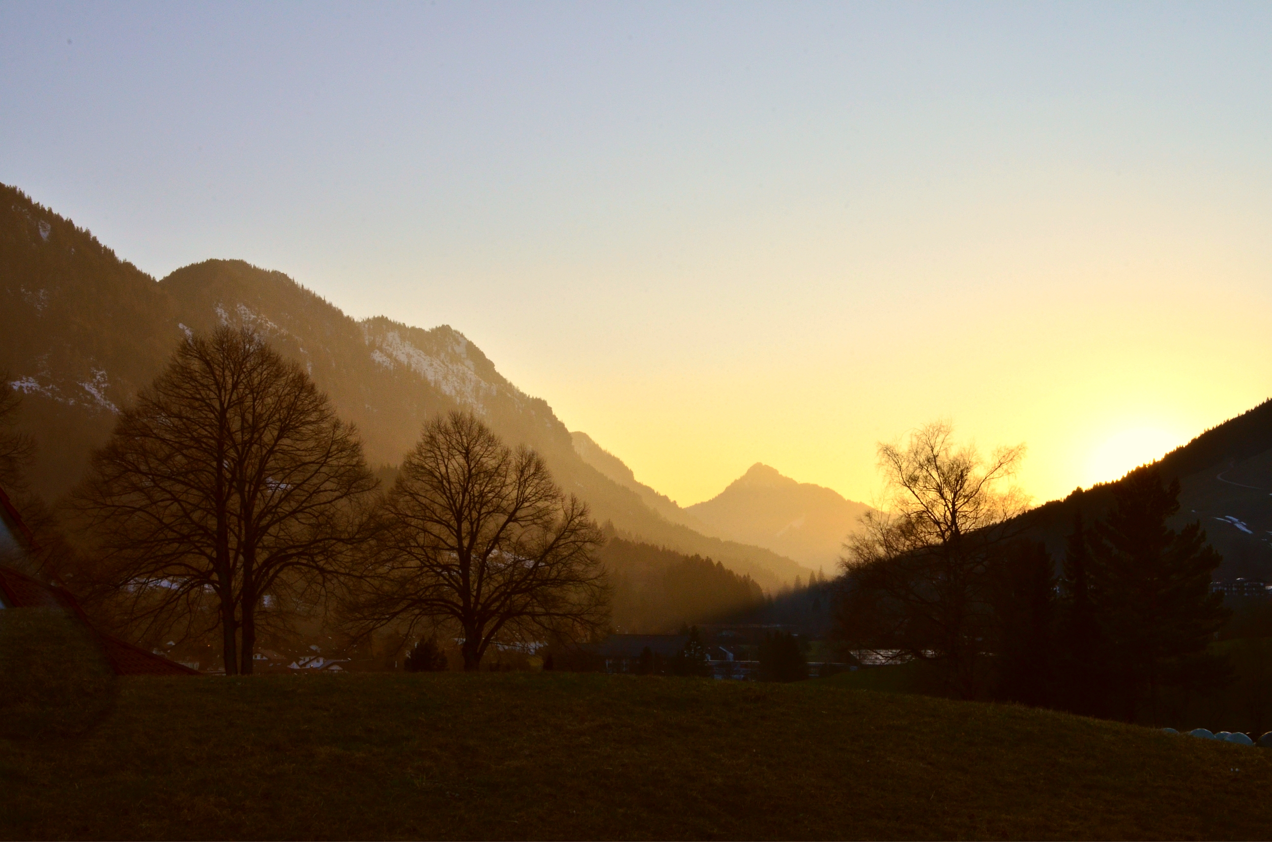 H0016 Sonnenuntergang am Hörnle