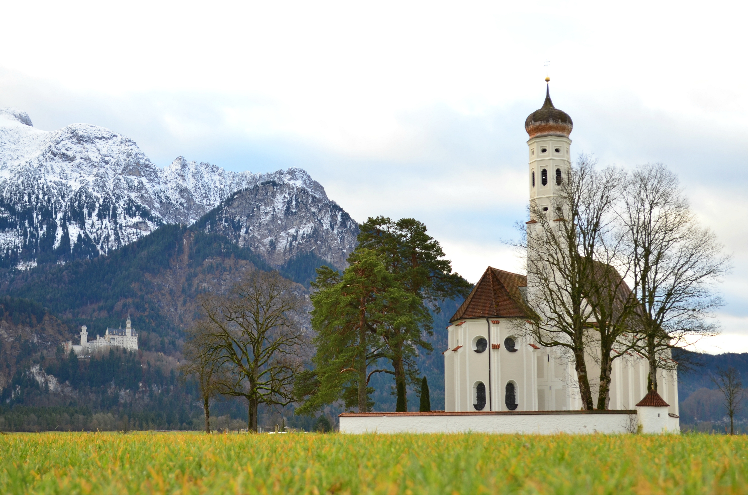 W0044 Colomankirche und Schloss