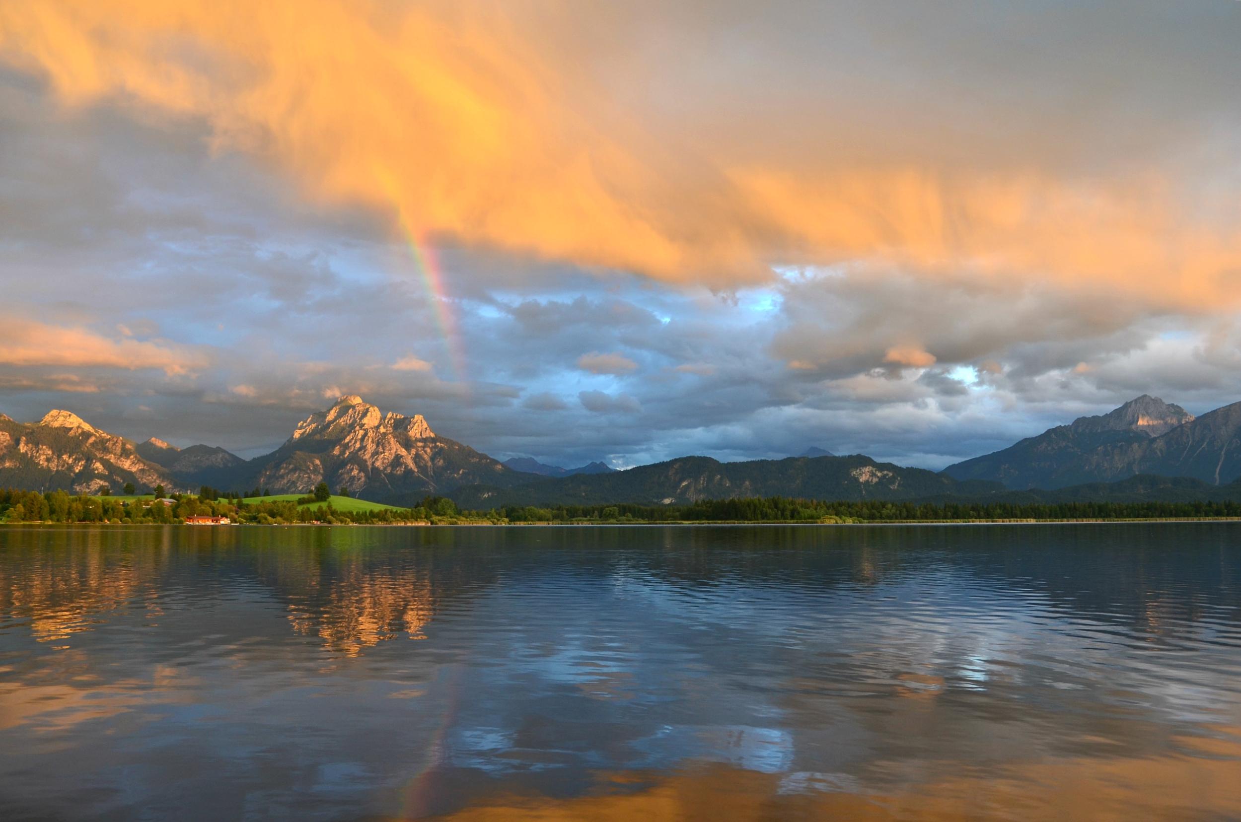 G0044 Regenbogenfarben Hopfensee