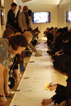 Collective narrative workshop, 2018