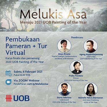 Melukis Asa main event poster