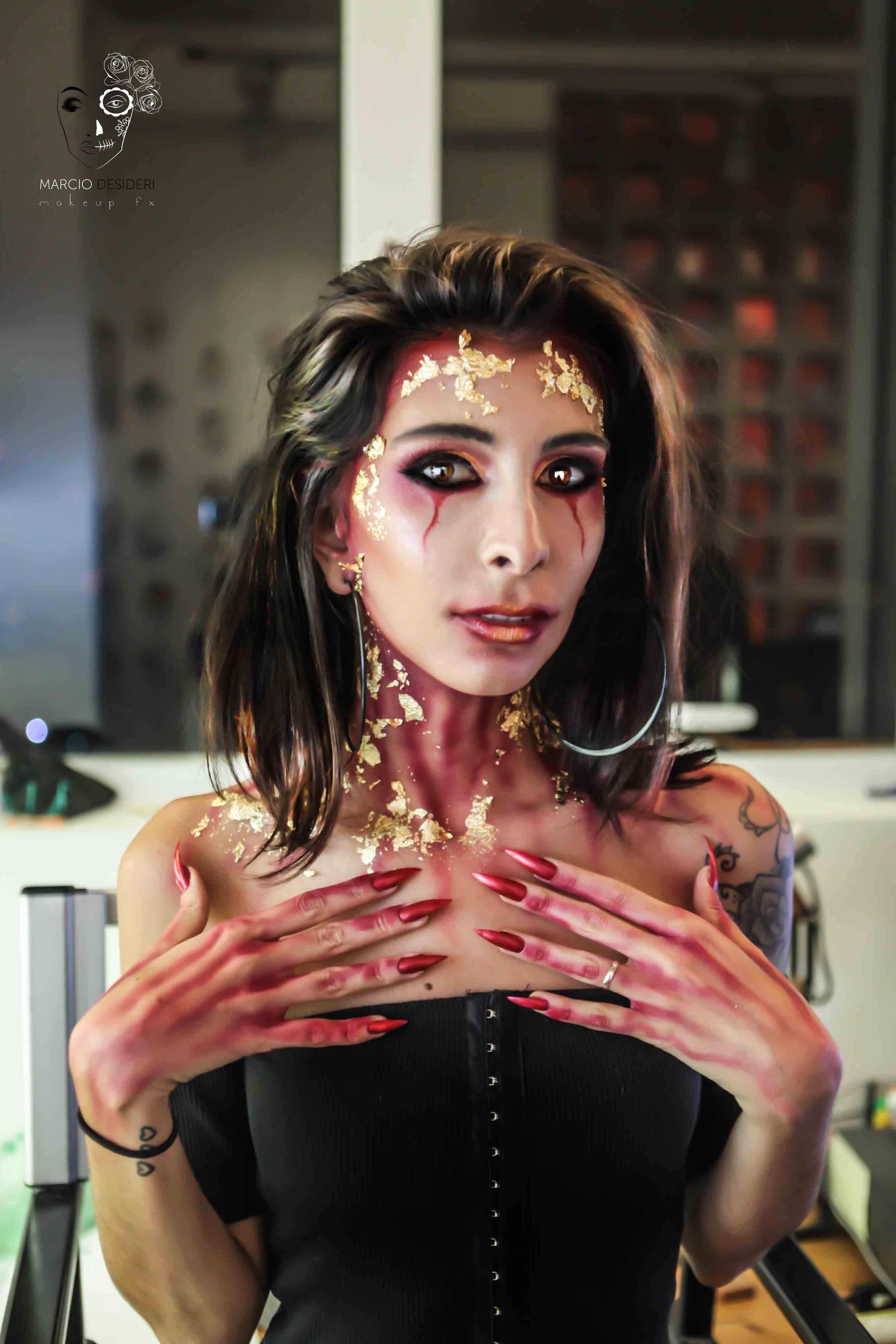 makeup halloween hauslander