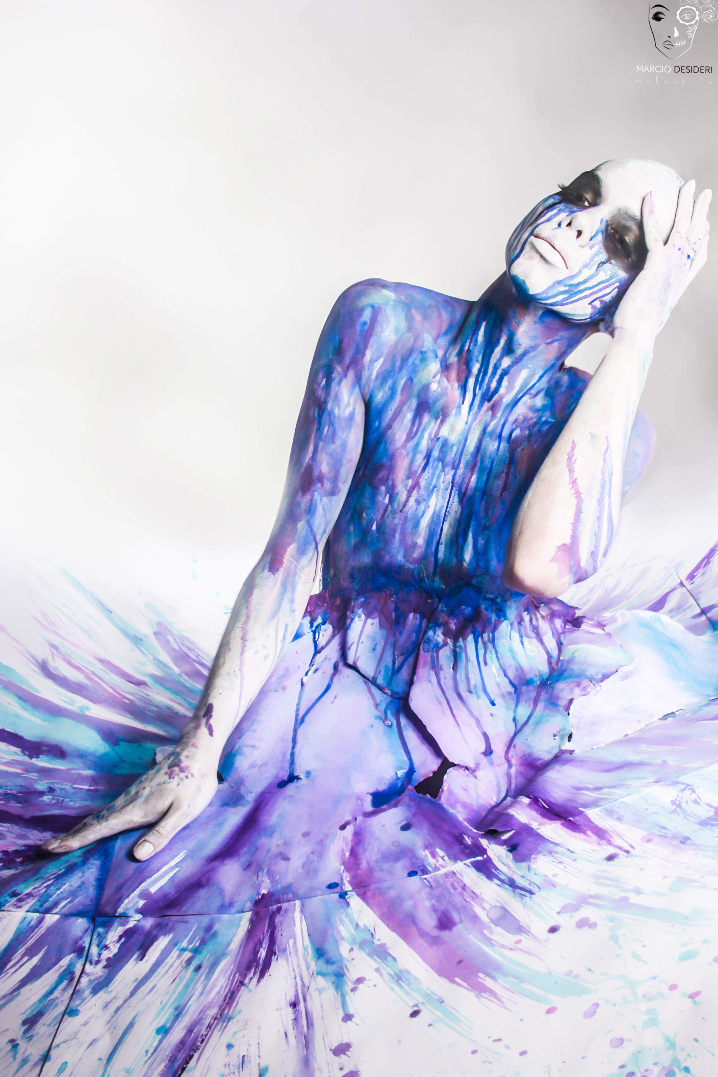 colors bodypainting