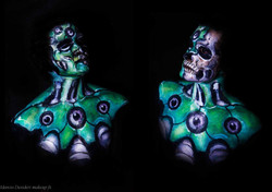 bodypainting robotic