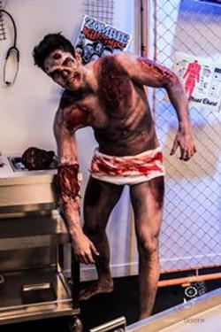 maquiagem terror