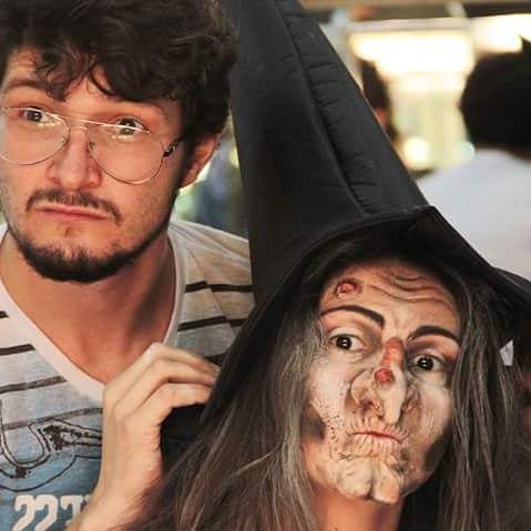 bruxa maquiagem