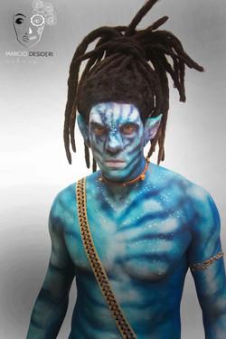 avatar bodypainting marcio desideri