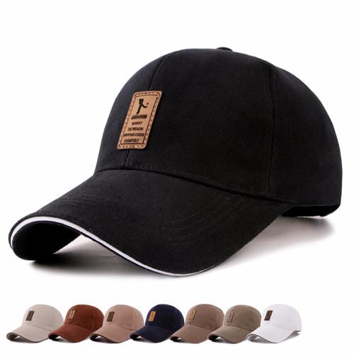 430712fd5d8 New Men s and Women s Cotton Golf Caps Summer Autumn Hat Outdoor Travel  Sports