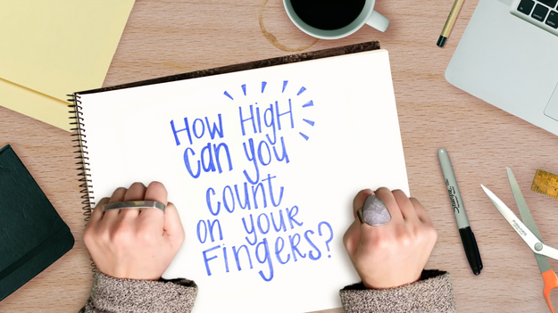 How High Can You Count On Your Fingers?