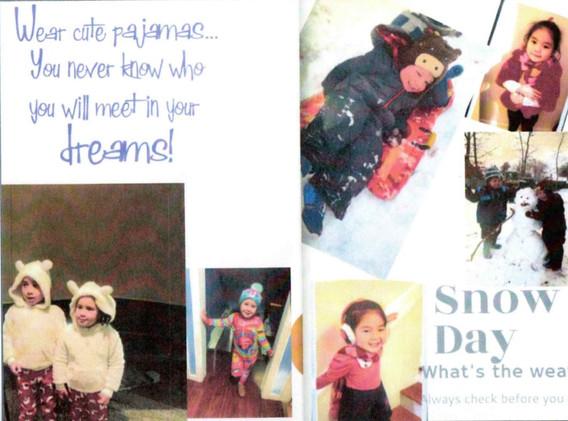Pajama Snow day