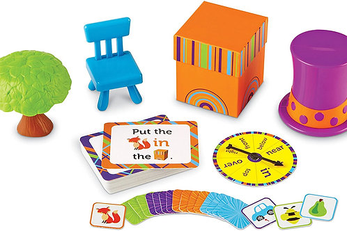 Learning Resources Fox In The Box Position Word Activity Set