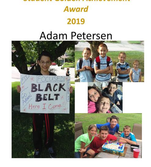 Petersen Student Golden Apple Award.jpg