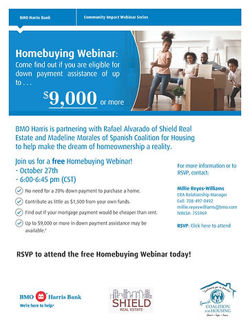 Homebuying Webinar Flyer - Oct 27 - Chic