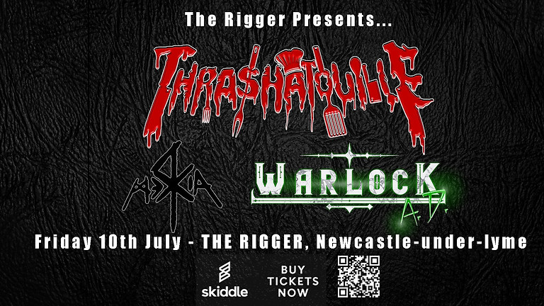Thrashatouille//WarlocK A.D.//Mercia