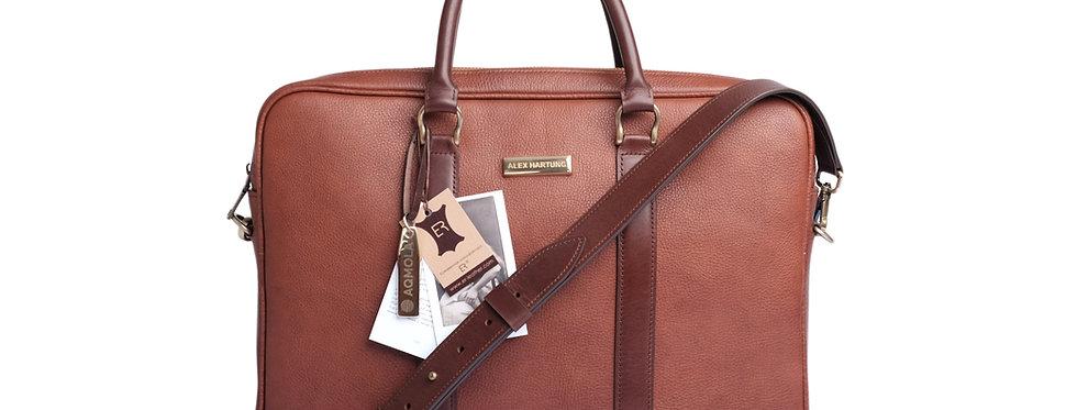 Hartung Briefcase Marrone
