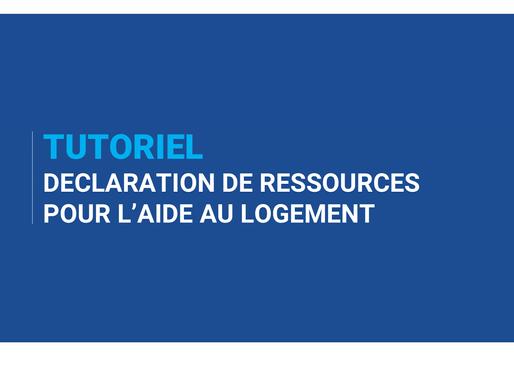 Comment remplir la déclaration de Ressources CAF