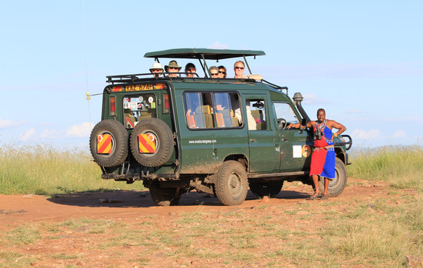 At The 'Lookout' - Kenya