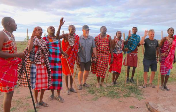 Maasai Warriors - And Friends