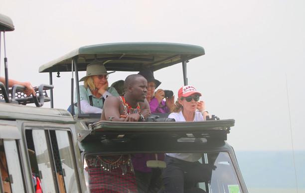 A Good View - Maasai Mara