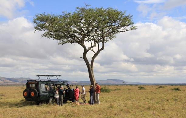 Breakfast On The Maasai Mara