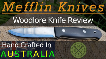 A review of an early O1 bushcraft knife
