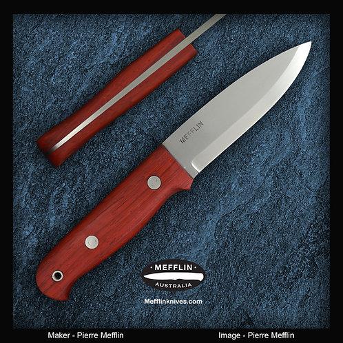 CPM-154 - Bushcraft Knife - stainless steel