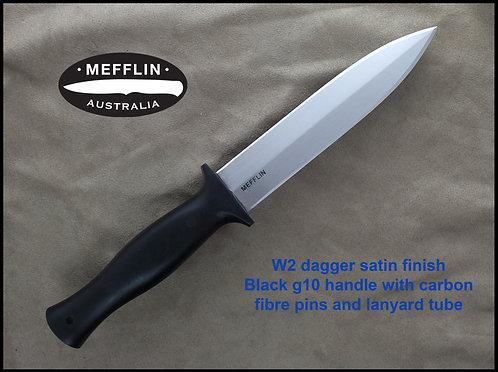 W2 dagger with satin finish