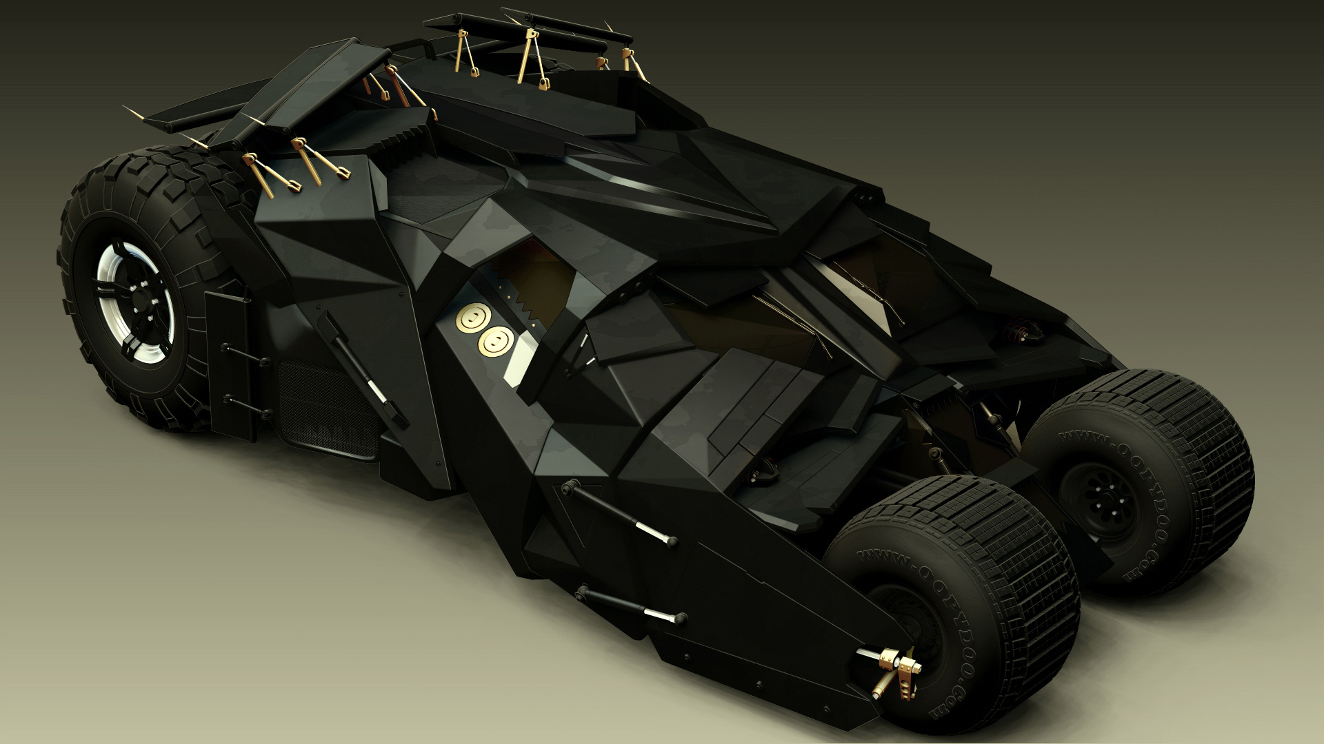 Batman автомобиль Batmobile онлайн