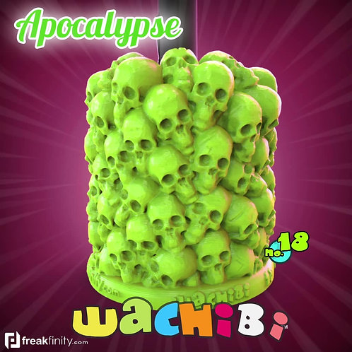 Wachibi No.18 Apocalypse Edition - Wacom Pen Holder - Apple Pencil Holder - by Freakfinity