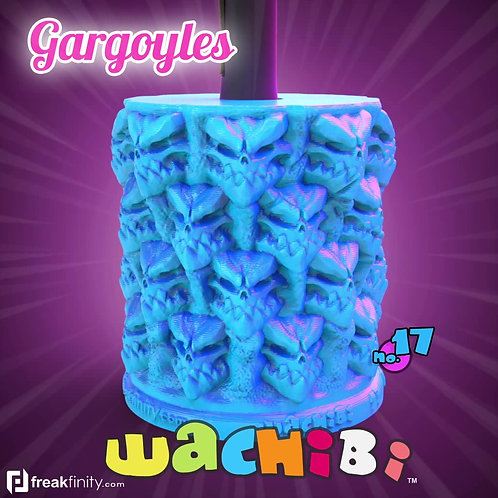 Wachibi No.17 Gargoyles Edition - Wacom Pen Holder - Apple Pencil Holder - by Freakfinity