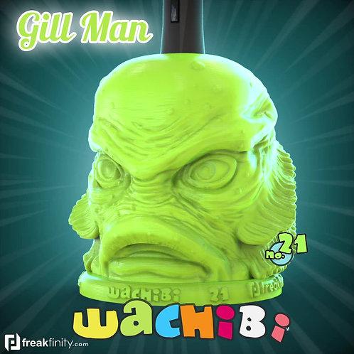 Wachibi No.21 Gill-Man Edition - Wacom Pen Holder - Apple Pencil - by Freakfinity