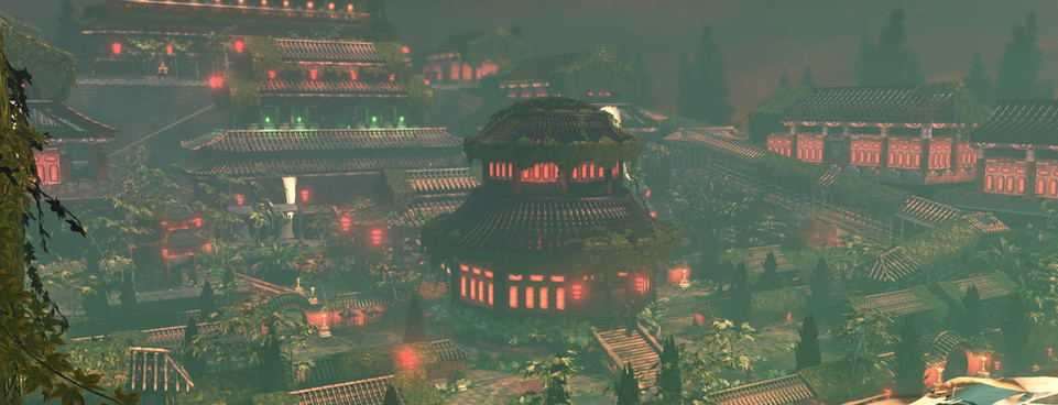 Above is my Forbidden City UDK project. All assets and content are original creations built by myself from reference I collected whilst visiting China. During this project I learnt the fundamentals of shader building, Kismet, lighting techniques, particles, dynamics, L.O.D ing, Matinee, and simple HUD systems implemented with Flash.