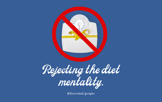 Intuitive Eating Principle 1: Rejecting the Diet Mentality