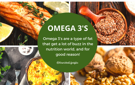 Omega 3's and Why They're Important