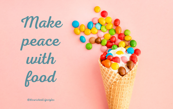 Intuitive Eating Principle 3: Make Peace with Food
