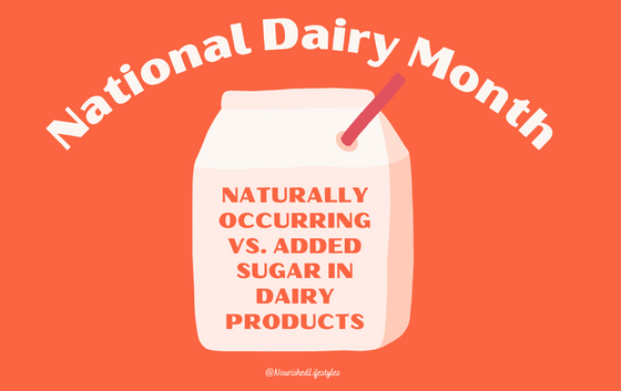 Naturally Occurring vs. Added Sugar in Dairy Products