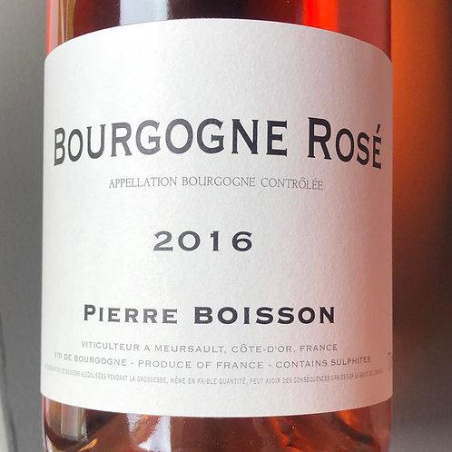 Bourgogne Rosé 2016, Pierre Boisson