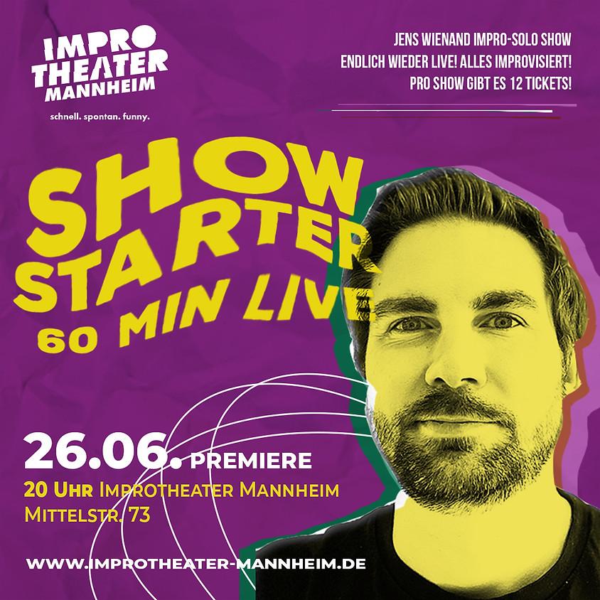 Showstarter - Jens Wienand Impro Solo Show