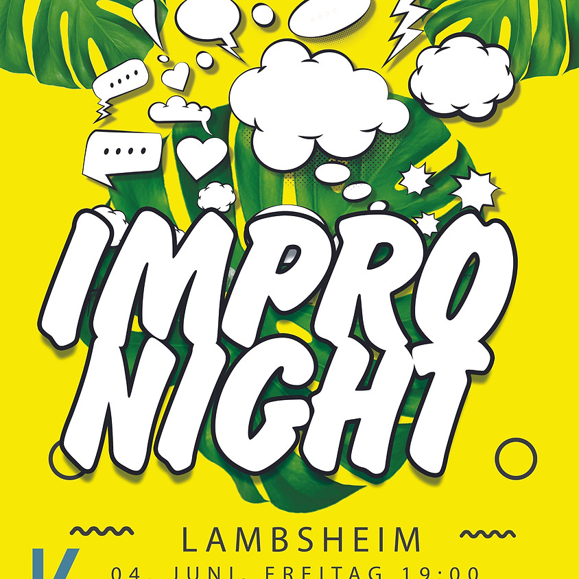 Impro Night LAMBHEIM - SPECIAL OPEN AIR