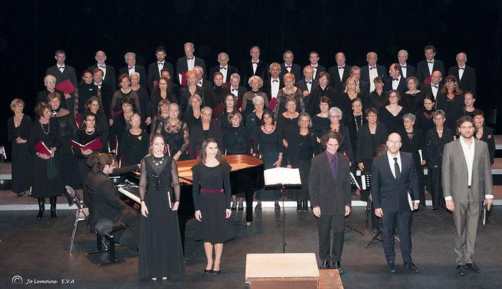Ensembel Vocal d'Arles -Petite Messe de Rossini au Théâtre d'Arles
