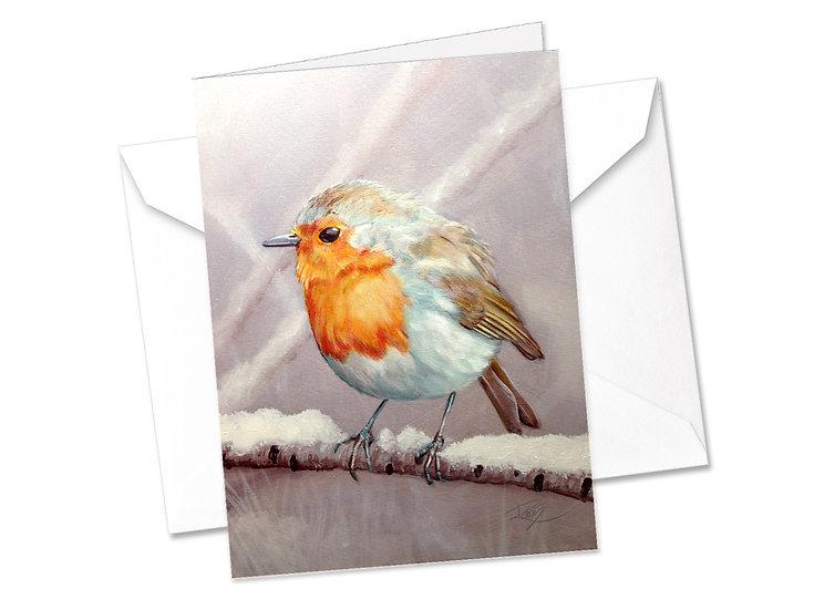 Christmas Cards - Traditional Robin