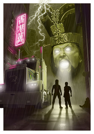 Big Trouble Little China Poster