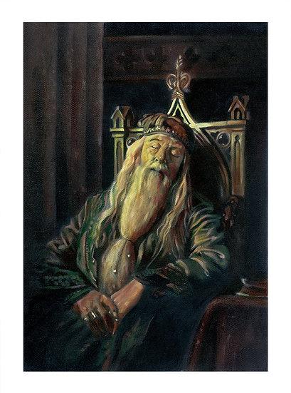 Dumbledore Snoozing