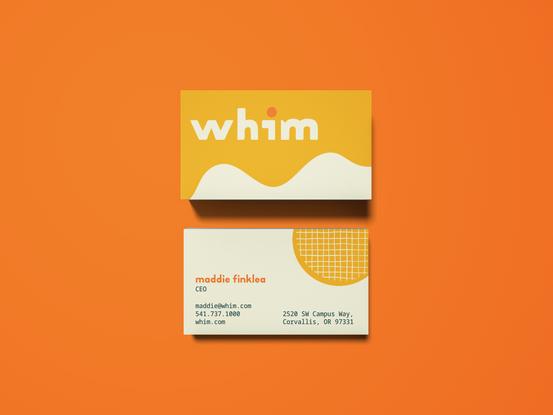 Overhead Business Card Mockup_orange2.pn