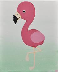 """""""Fuchsia the Flamingo!"""""""