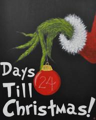 """Grinch Days Till Christmas"""