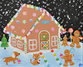 """""""Gingerbread House Party!"""""""