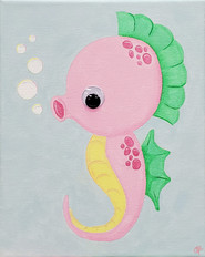 """Swishy the Seahorse"""